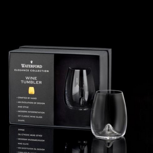 Waterford Elegance Stemless Wine Pair
