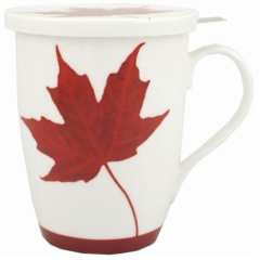 MEMORIES OF CANADA TEA MUG W/LID