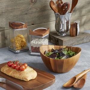 Nambé Harmony 3 Piece Salad Set