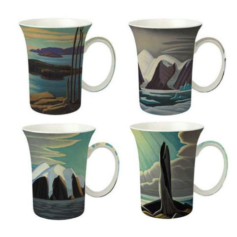 LAWREN S. HARRIS MUGS SET OF 4