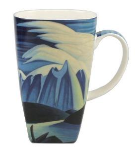 Lawren Harris Lake and Mountains Grande Mug $23.00