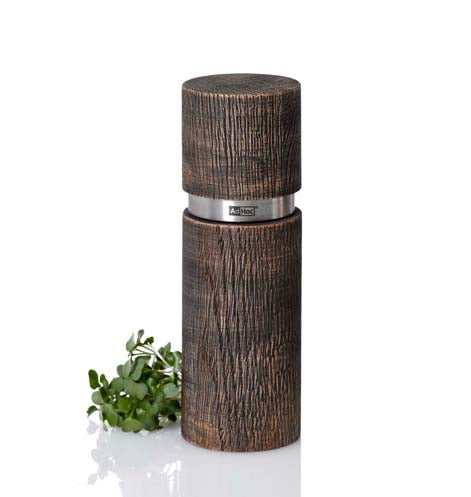 AdHoc Pepper or Salt Mill - Black Wood