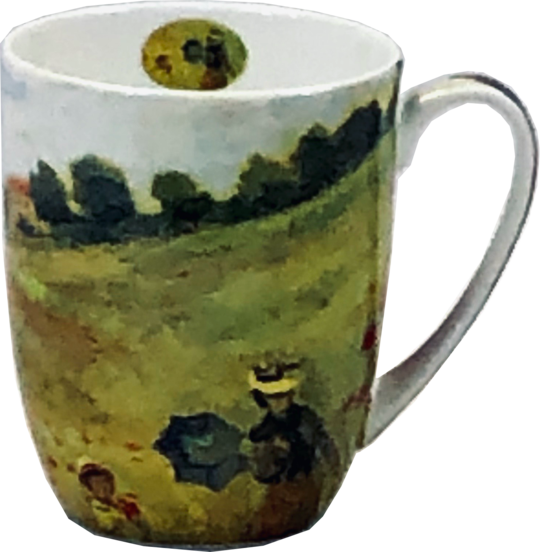 Monet Poppies Java Mug