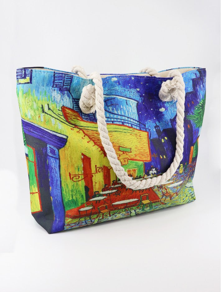 G-Oil Painting Fashion Tote-Van Gogh
