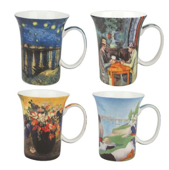Post Impressionist Set of 4 Mugs $49.99