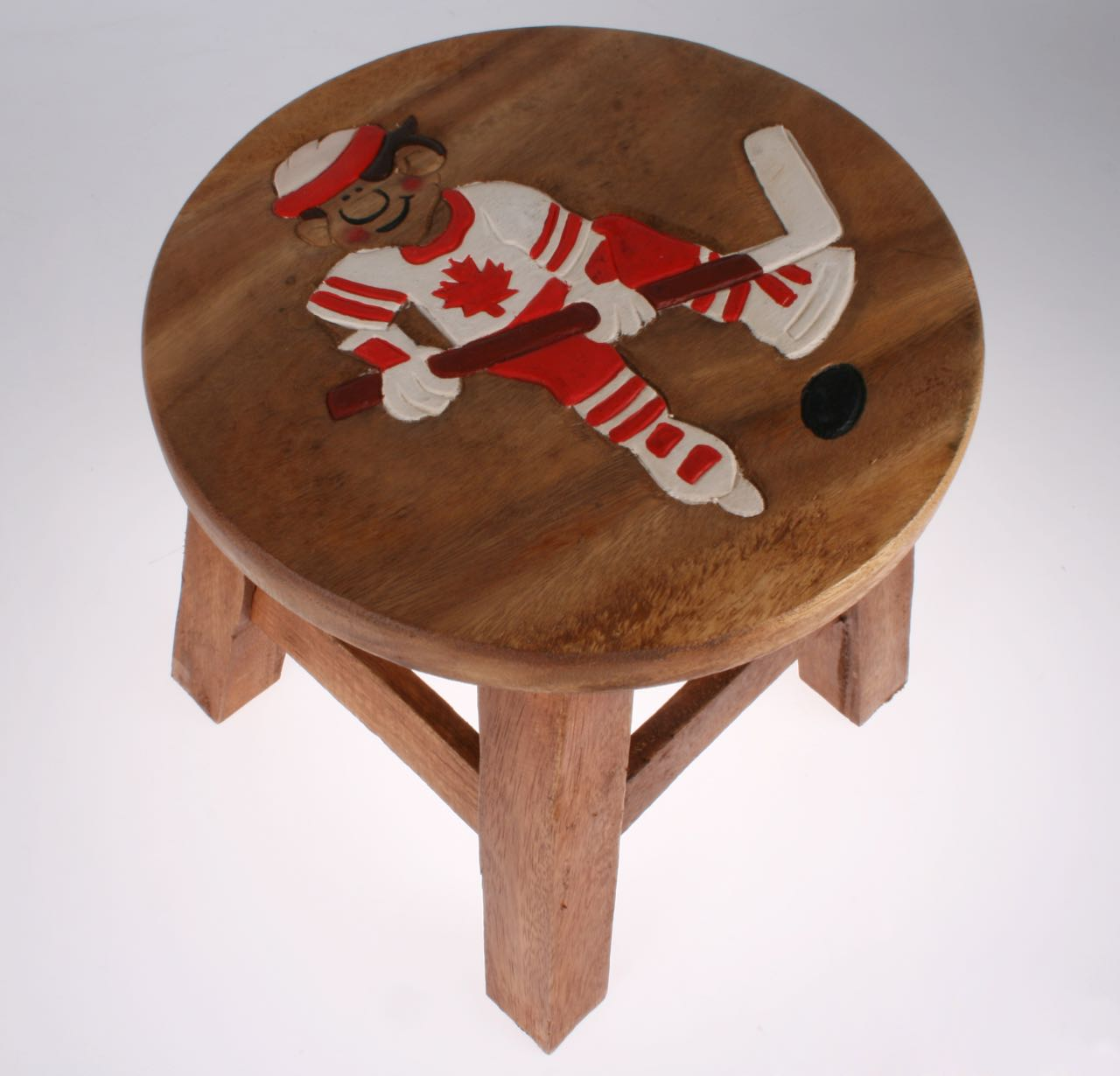 Canadian Hockey Stool