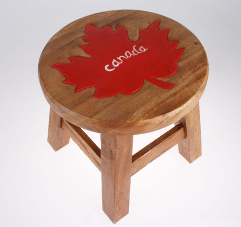 MAPLE LEAF STOOL