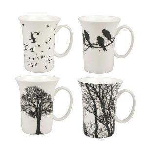 Eternal Silhouette Set of 4 Mugs $49.99