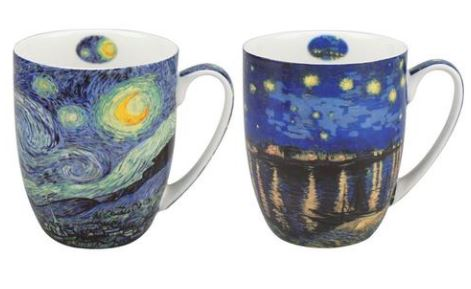 Van Gogh Starry Nights Mug Pair $28,50