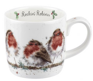 .Wrendale Mug - Rocking Robins