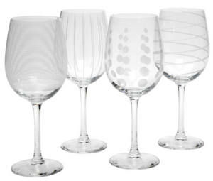 Mikasa Cheers White Wine 4pc