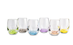 Bohemia Rainbow Shot Glass 6pc