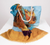 Oil Painting Scarf & Tote Set - Van Gogh Sunflowers
