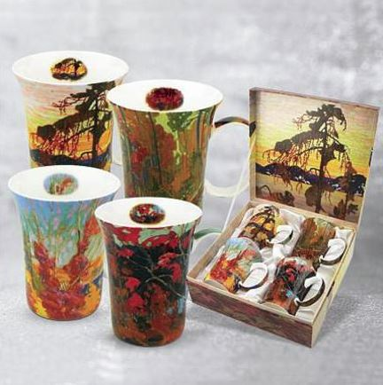 Tom Thomson Set of 4 Mugs $49.99