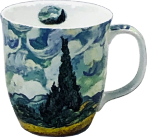 Van Gogh Wheatfields Java Mug