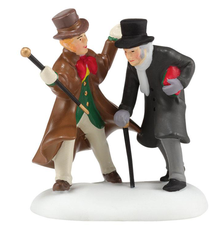 DEPT. 56 Dickens A Humbug Uncle