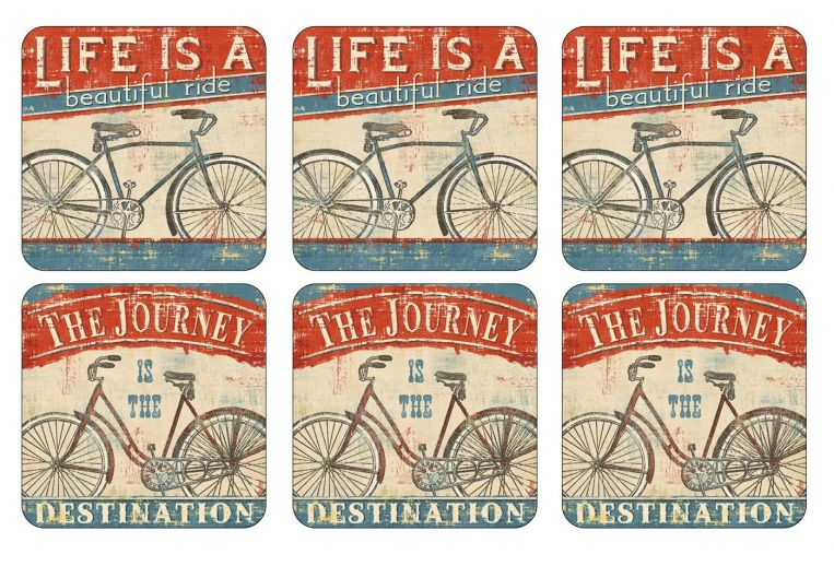 Pimpernel Coasters set of 6 Beautiful Ride
