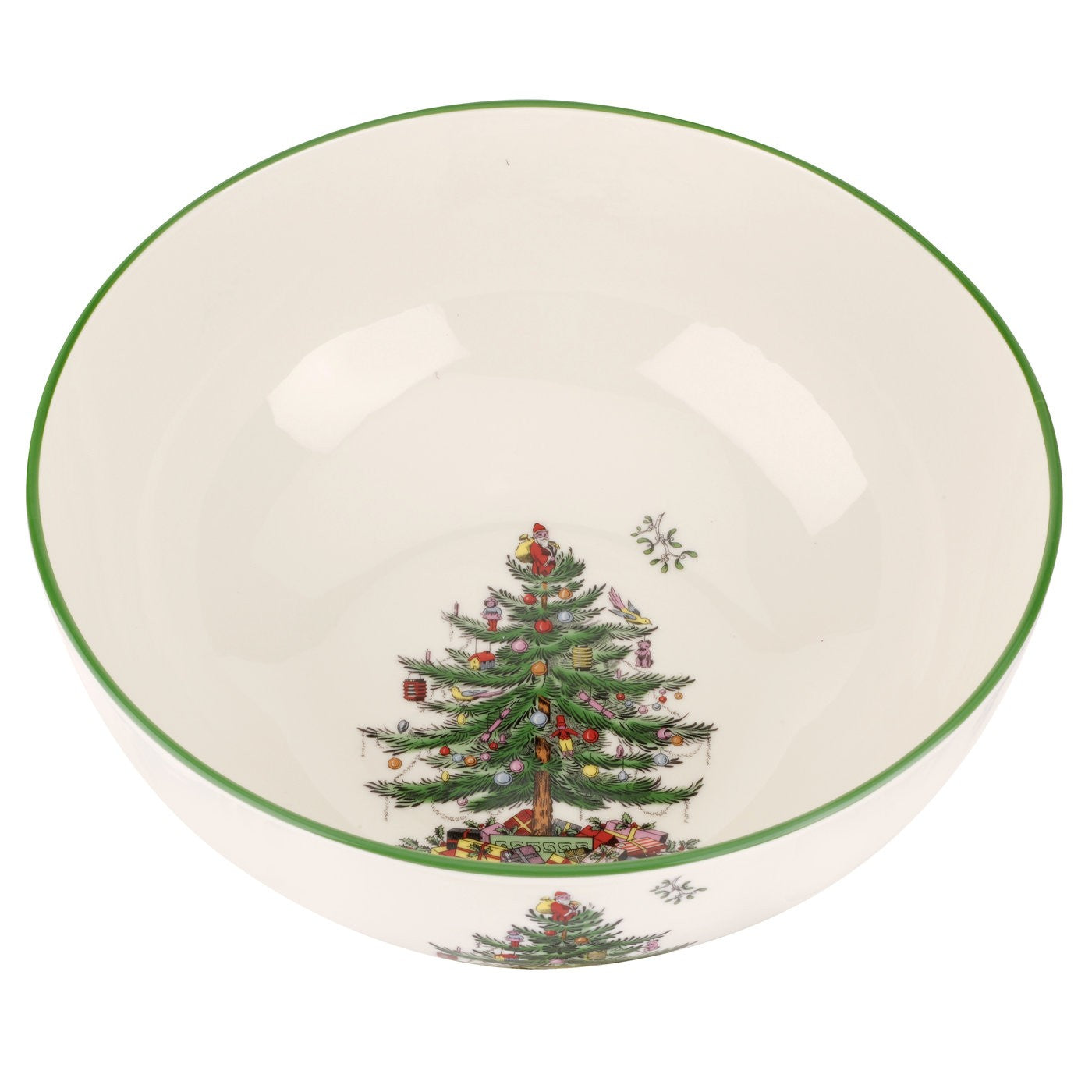 Spode Christmas Tree Round Bowl 10""