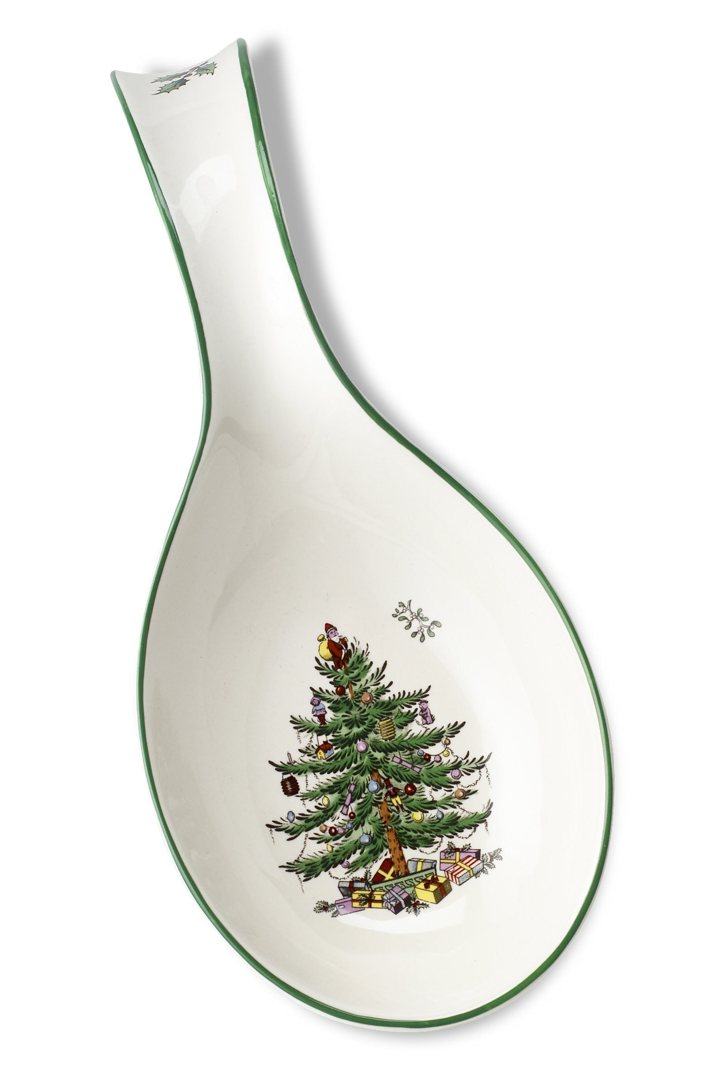Spode Christmas Tree Spoon Rest