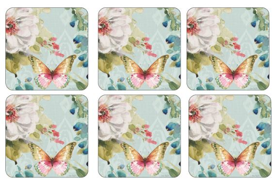 Pimpernel Coasters Set of 6 Colorful Breeze $14.99