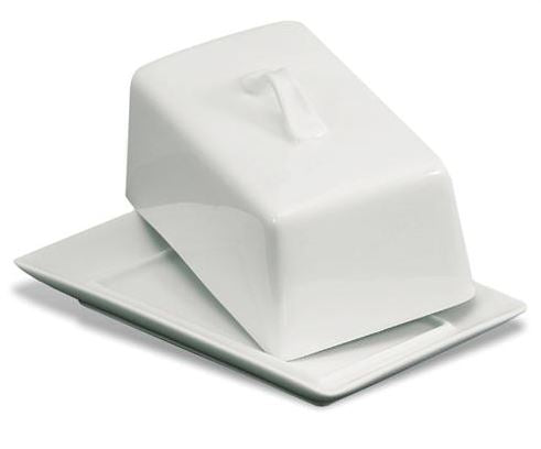 Bia Rectangle Covered Butter Dish