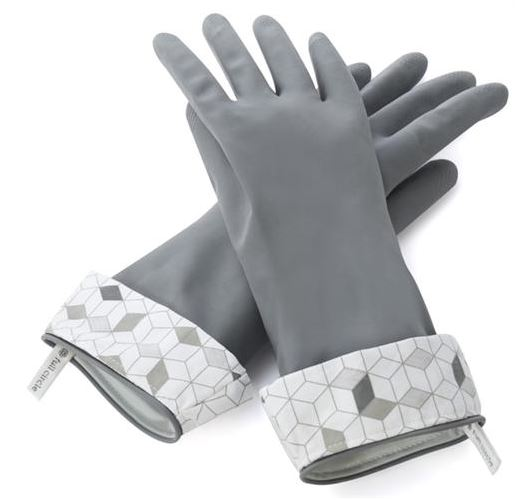 Full Circle Splash Patrol Latex Gloves Grey