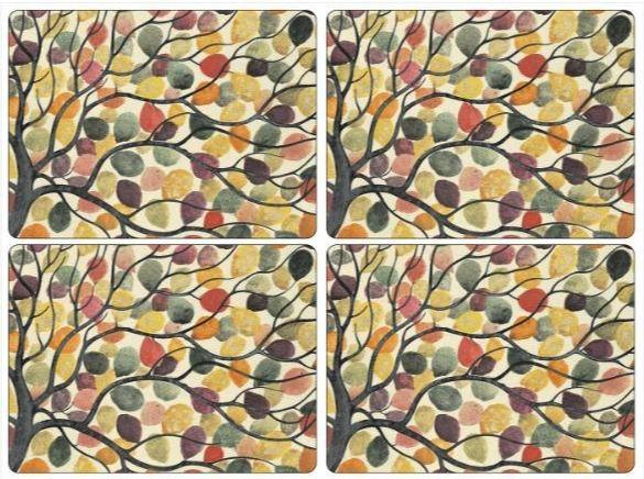 Pimpernel Placemats Set of 4 Dancing Branches $39.99