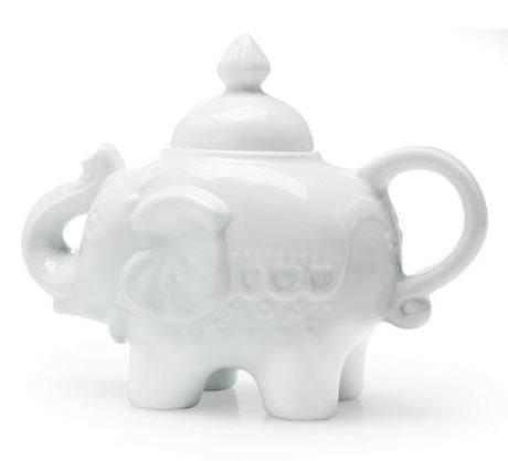 ELEPHANT COVERED SUGAR WHITE