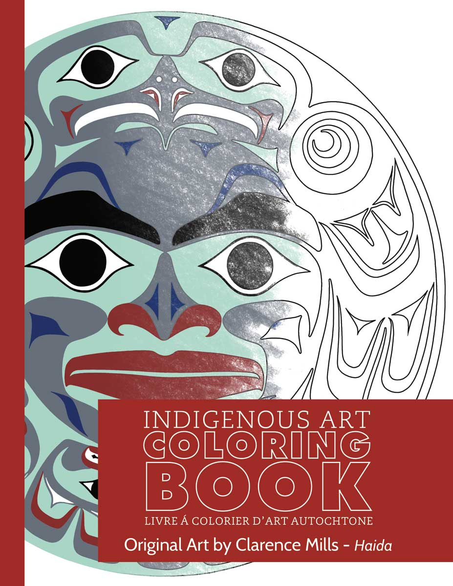 Indigenous Art Colouring Books- Clarence Mills