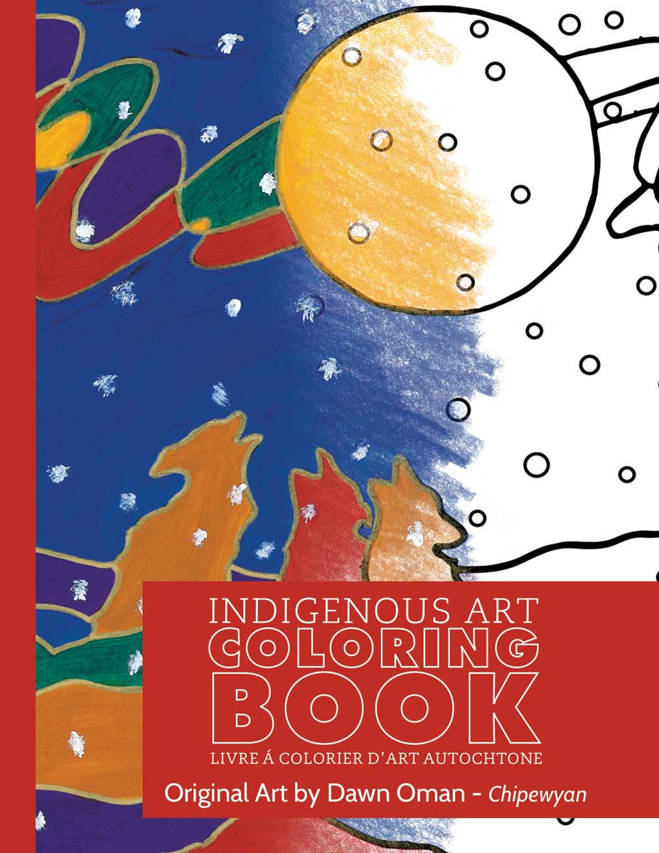 Indigenous Art Colouring Books- Dawn Oman