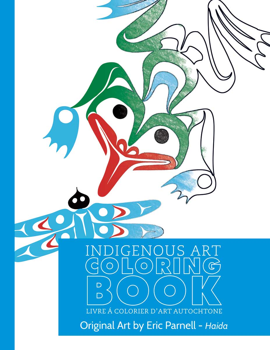 Indigenous Art Colouring Books- Eric Parnell