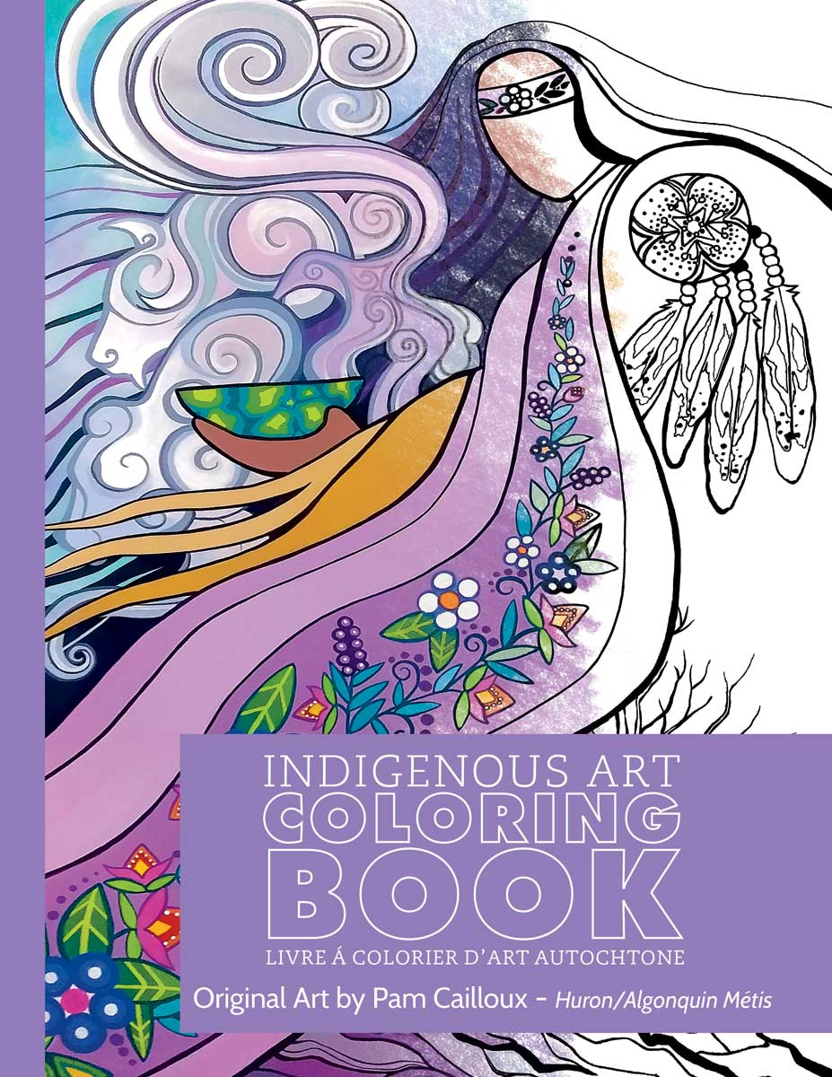 Indigenous Art Colouring Books- Pam Cailloux