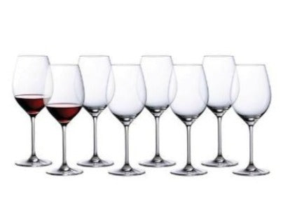 *Waterford Marquis Moments Red Wine set of 8