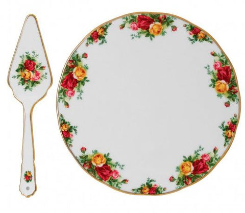 Old Country Roses Cake Plate & Server $127.50