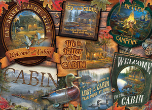 Cobble Hill - Cabin Signs