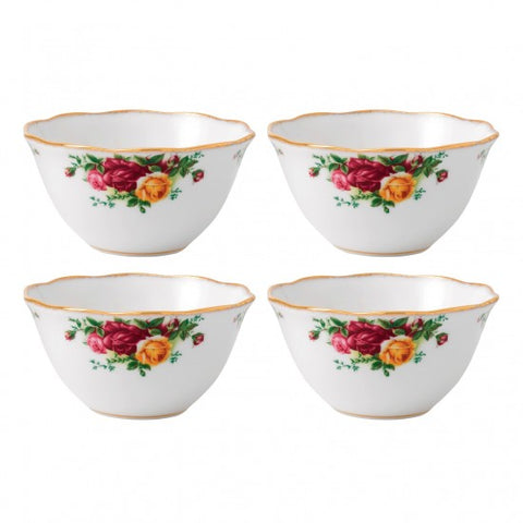 Old Country Roses Bowl Set of 4 $104.00