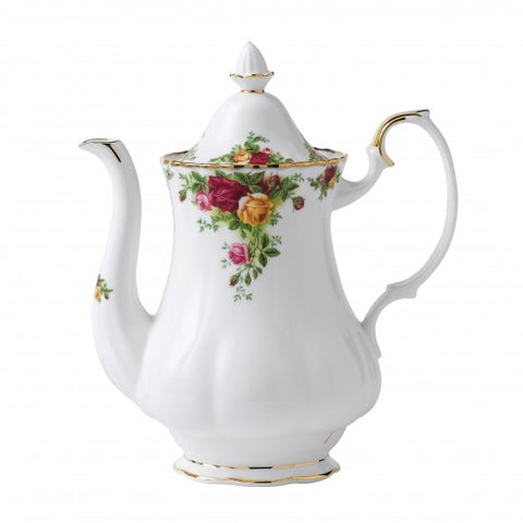 OLD COUNTRY ROSES COFFEEPOT 42OZ