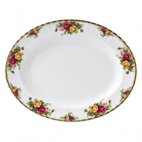 OLD COUNTRY ROSES PLATTER 13""