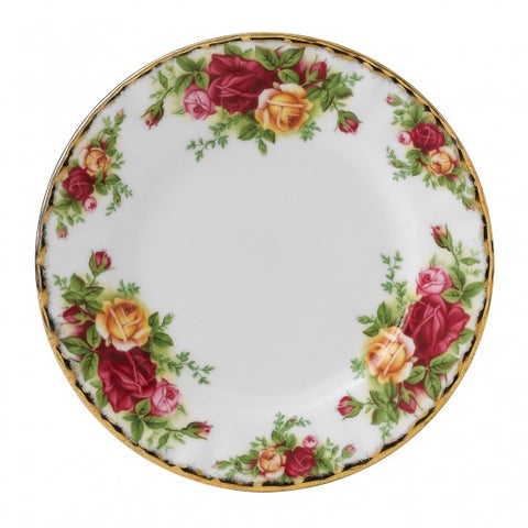 "Old Country Roses Bread & Butter Plate 6.3"" $27.50"