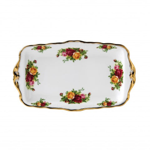 Old Country Roses Sandwich Tray $71.50