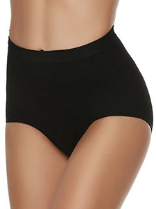 Ekouaer Women's Shapewear Comfort Light Control Shaping Brief Tummy Tuck Panties