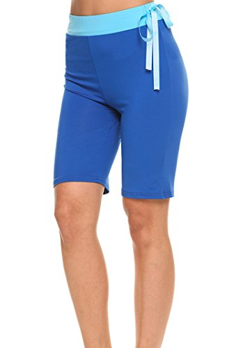 Ekouaer Women's Yoga Pants Workout Leggings Running Tights Workout Yoga Hot Shorts
