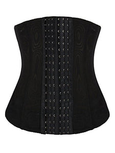 Ekouaer Waist Trainer Corset - Womens Breathable Tummy Shapewear Bustier Girdle
