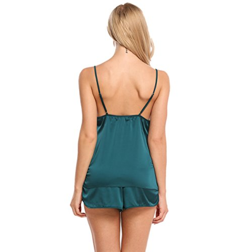 Ekouaer Sleepwear Womens Sexy Lingerie Shorts Set Nightwear