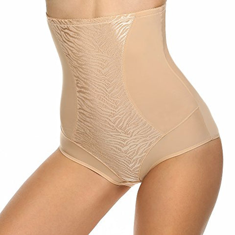 Ekouaer Women's Shapewear Hi-Waist Brief Firm Control Panty
