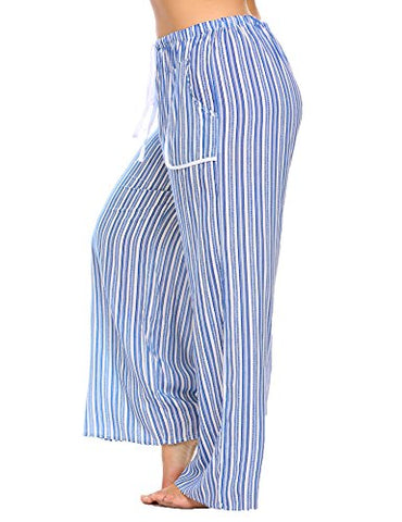 Ekouaer Jersey Knit Women Pajama Pants/Sleepwear