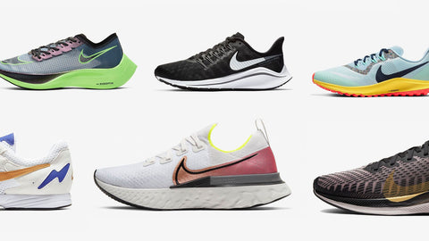 Nike running shoes - every season a new model