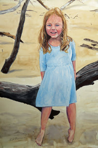 Commissioned Child Portrait