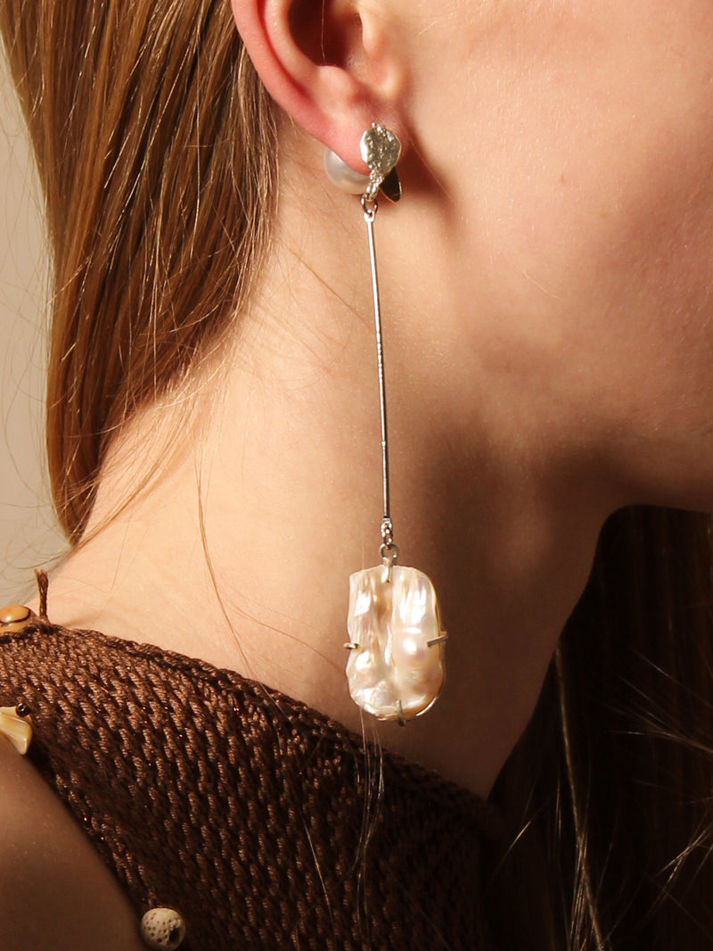 Farafra Earrings - Asymmetrical