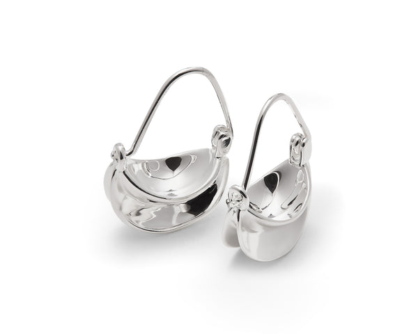 Mini Paniers Earrings - Silver